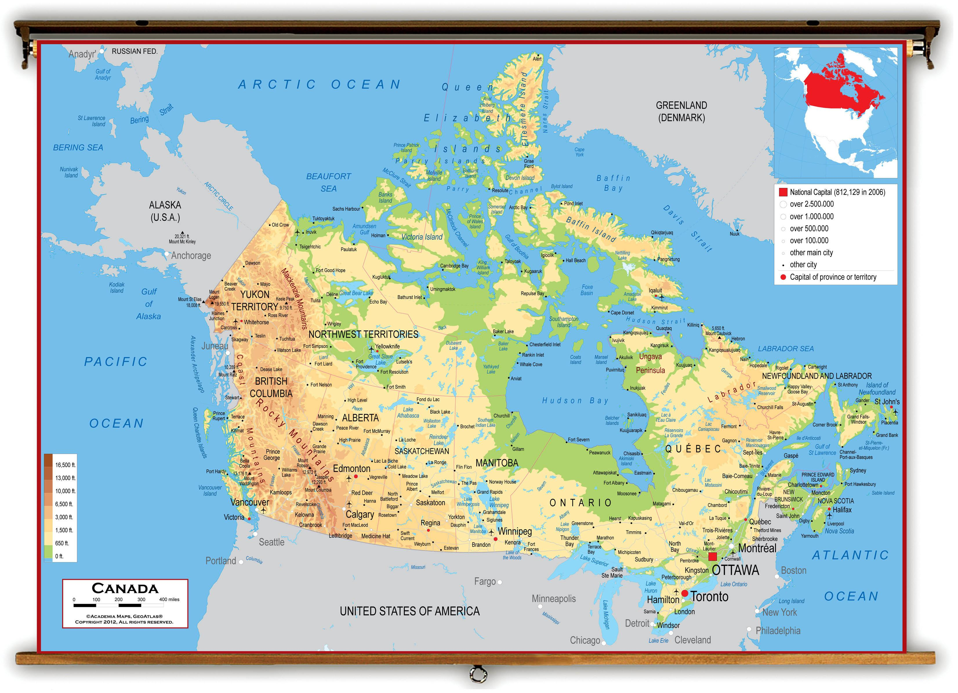 canada kart West coast Canada kart   Kart over Canada vestkysten (Nord Amerika  canada kart