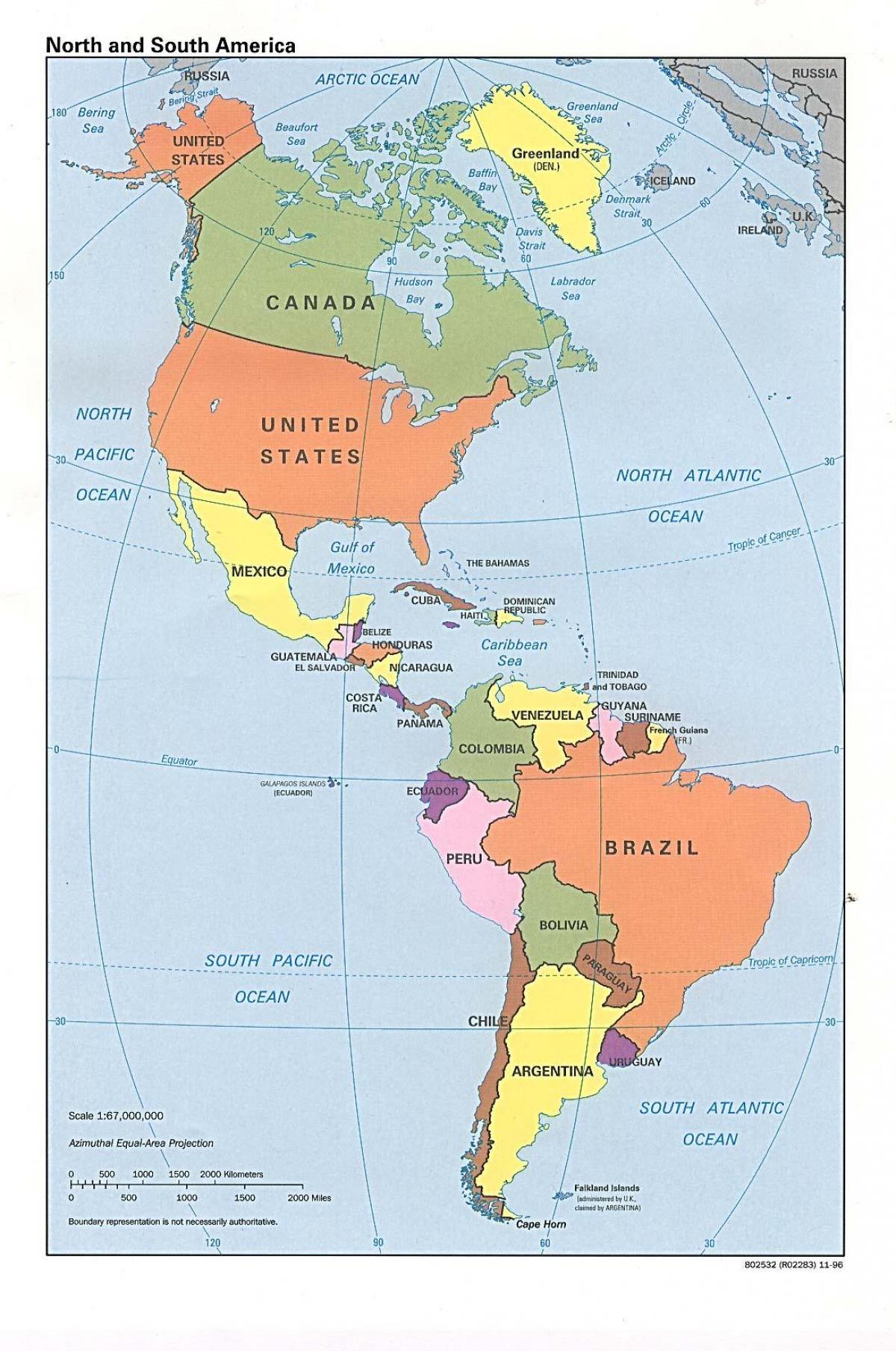 nord amerika kart Kart over Canada med hav   Canada kart hav (Nord Amerika   Amerika) nord amerika kart